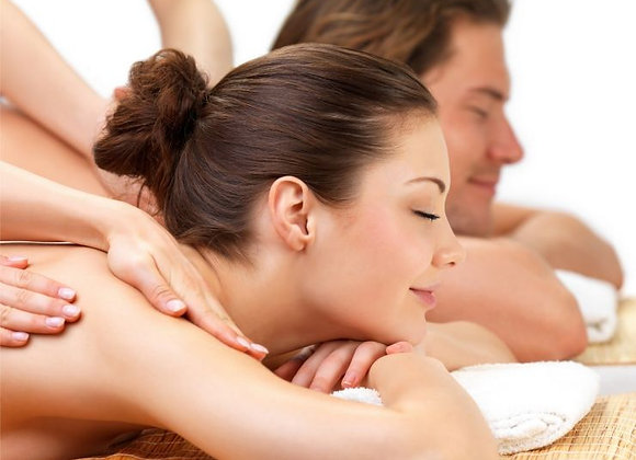 Massagem relaxante - 5 sessões