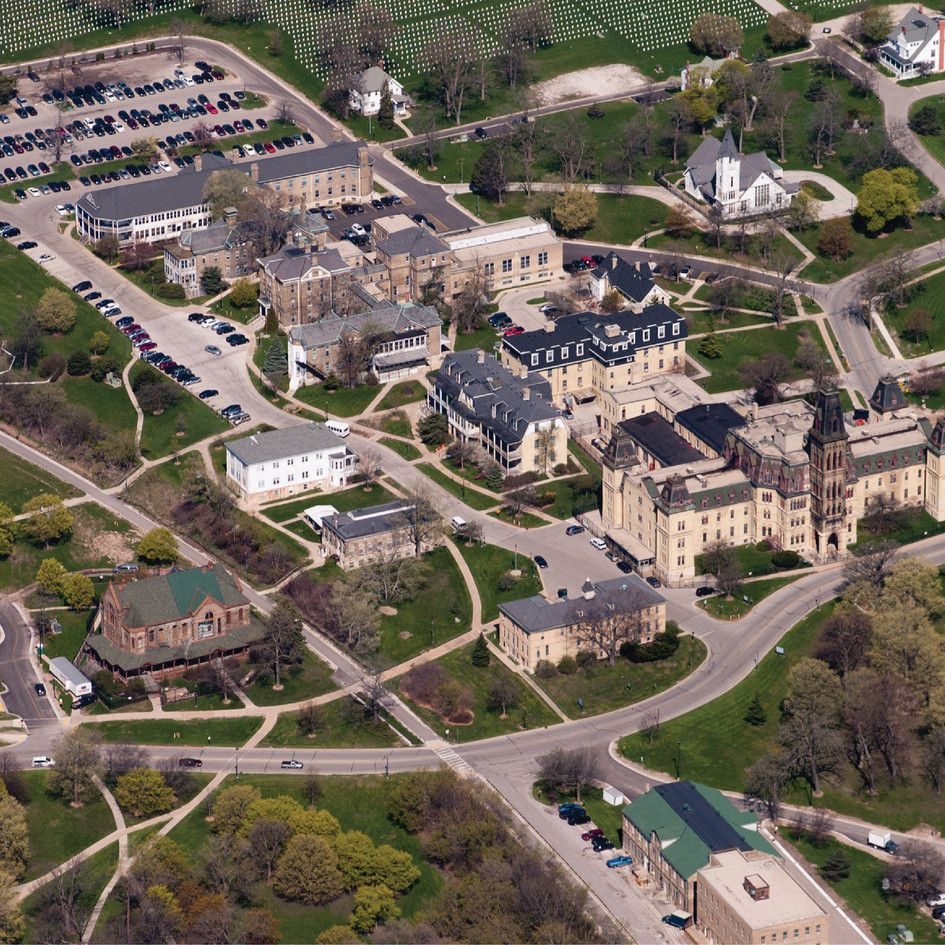 Explore the Milwaukee Soldiers Home's Buildings