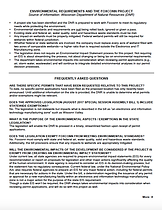 Project oveview fact sheet