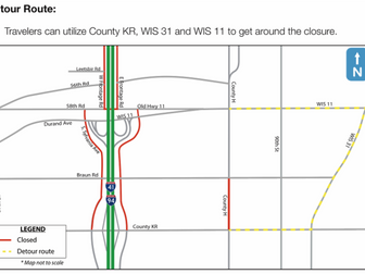 Highway H to Close for Utility Work