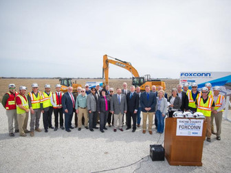 Less Than One Year Later: Work to Begin on Foxconn Site