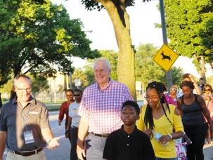 Mayor's Walk and Neighborhood Block Party