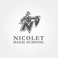 Nicolet High School Logo