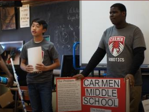 Carmen Northwest Middle School Celebrates STEM