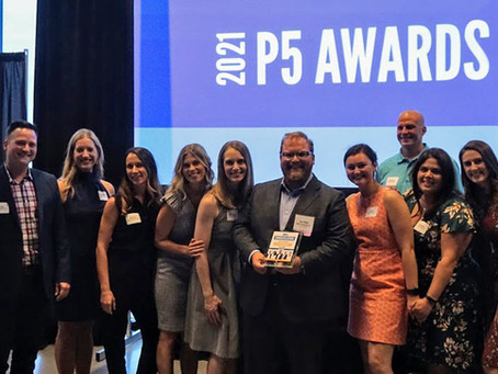 James Madlom Accepts Philanthropic 5 Award from United Way