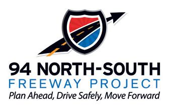 I-94 Northbound Traffic Shifted