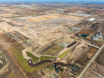 Crews Continue Progress on Foxconn Project Site