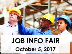 Construction-Related Job Information Fair To Be Held October 5