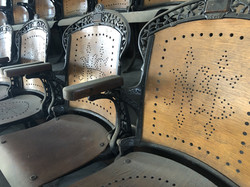 Seats in Ward Theater