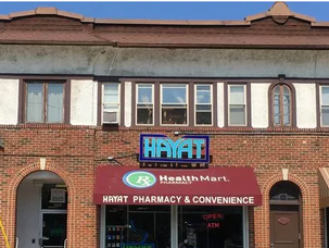CNI area Hayat Pharmacy Helps Hurricane Evacuees