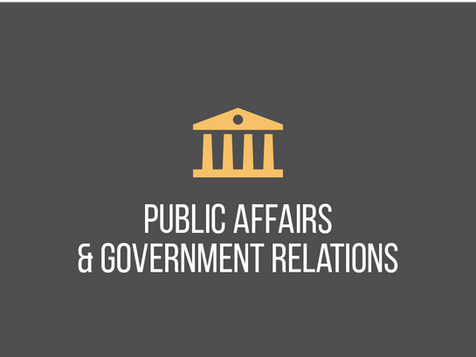 Public Affairs and Government Relations
