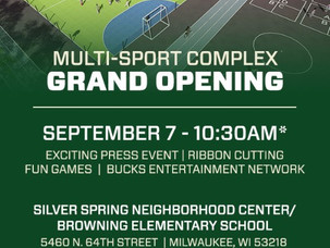 You're Invited: Multi-Sport Complex Grand Opening