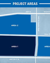 Proposed Foxconn project areas
