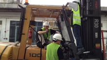 Safety First! Forklift Cameras.