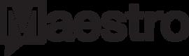 Maestro Black Logo - Clear Blackground.p