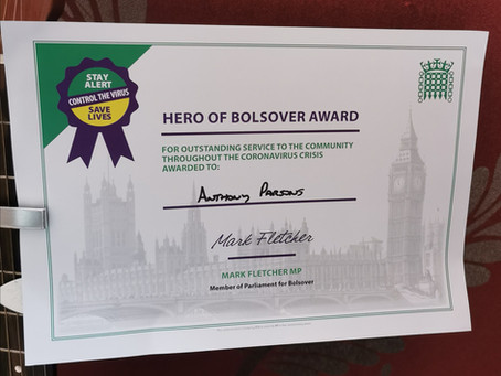Hero of Bolsover Award
