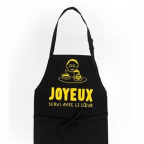 Tablier de cuisine adulte JOYEUX -J