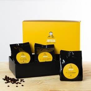 Coffret dégustation - Café en Grains - 3x250 Gr