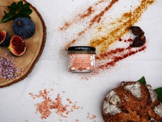 Terrine de Chevreuil figues et pain d'épices- 180g