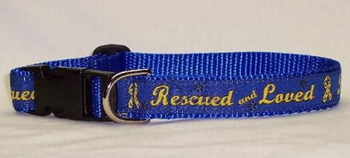 Rescue & Loved Collar/leash Set