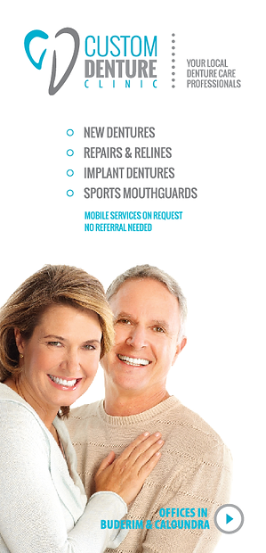 Services offered by Custom Denture Clinic