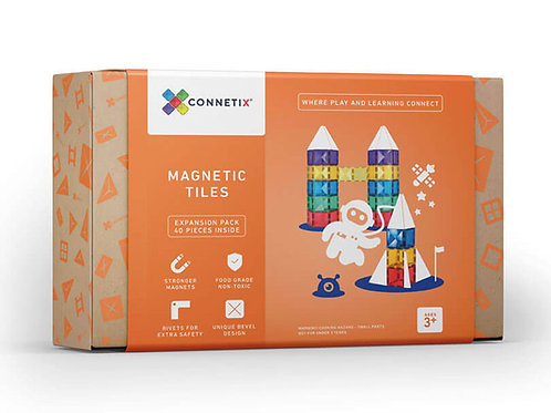 Connetix Tiles 40 Piece Expansion Set