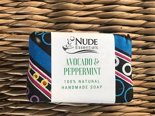 Avocado and Peppermint Soap