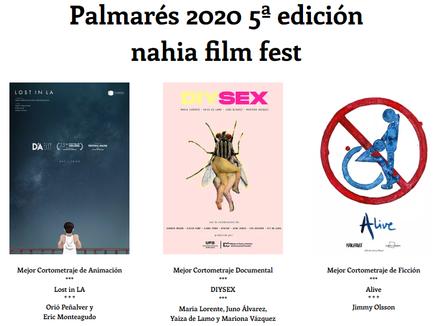 Palmarés 2020 (5ª edición)