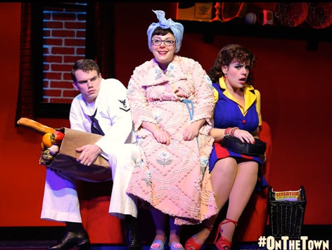 """Lucy Schmeeler in """"On The Town"""" on Broadway"""