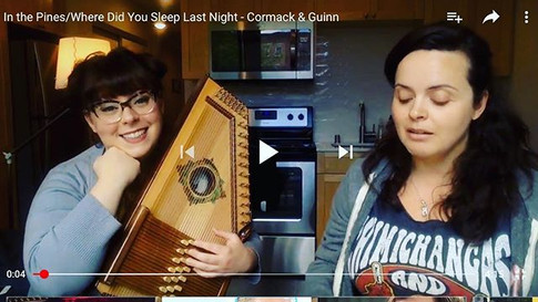 """Where Did You Sleep Last Night"" Cormack and Guinn"