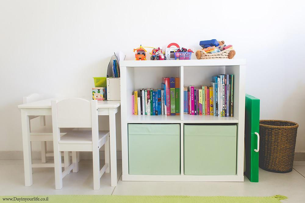צילום חדר הילדים