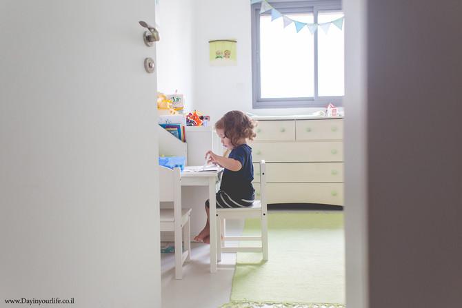 אתגר צילום ילדים - שבוע 6