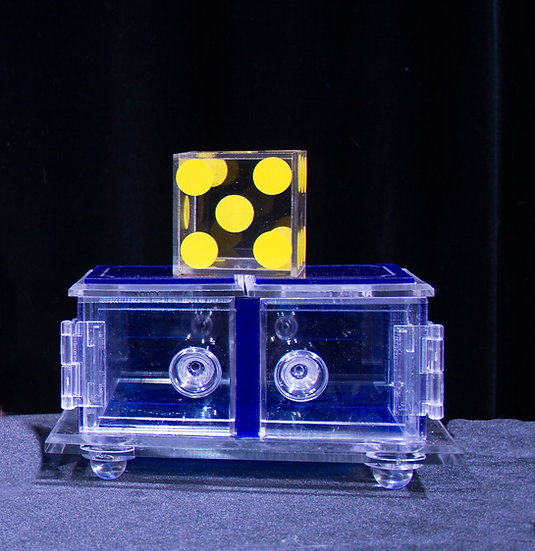 Clear Die Box/Blue (Improved)sold/out