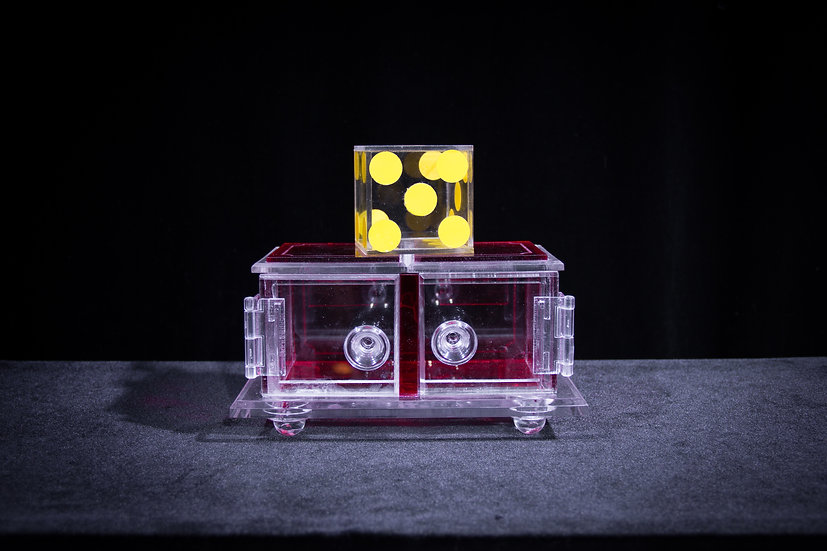 Clear Die Box/Red (Improved)SOLD OUT