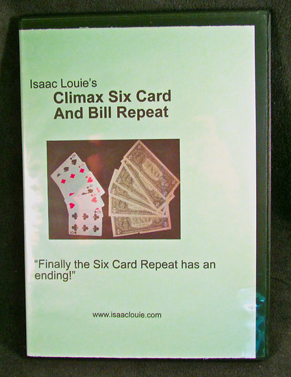 Climax Six Card and Bill repeat