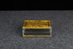 Clear card box