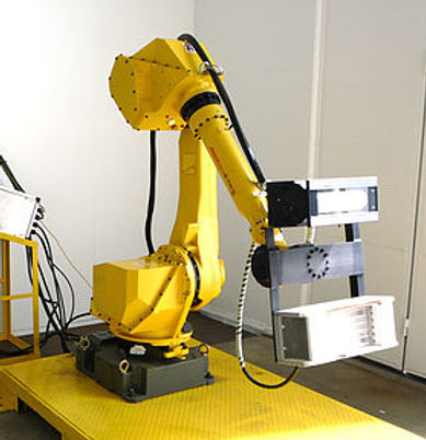 Fanuc robot integration for UV paint curing applications