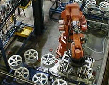 Turnkey systems can include robot auto loading
