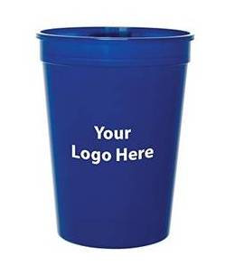 Plastic Cups with Vendor Logo (filled with snacks and distributed at breaks)