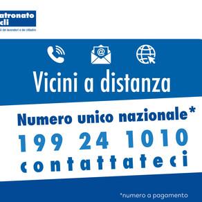 PATRONATO #viciniadistanza