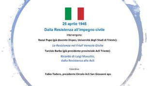 25 aprile 1945: Dalla Resistenza all'impegno civile