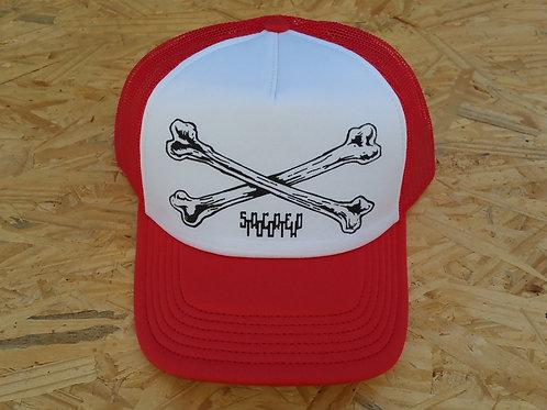 """""""Crossed Bones"""" Trucker Hat"""