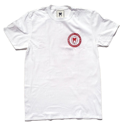 """""""Supporting Subcultures"""" Unisex T-shirt (White)"""