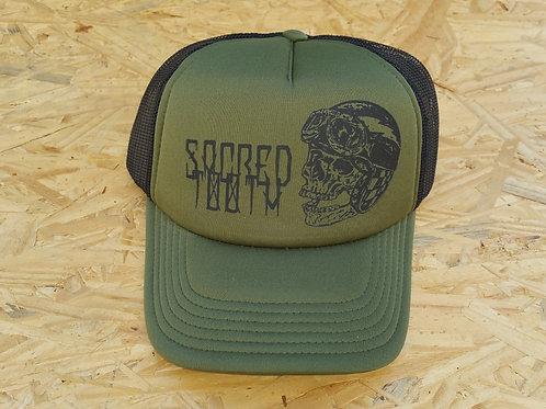 """""""Skully Helmet"""" Trucker Hat"""