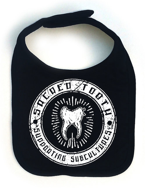 "Sacred Tooth"" Supporting Subcultures ""Baby Bib"