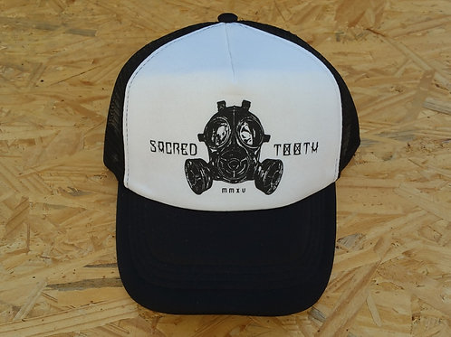 """Gas Mask"" Trucker Hat"