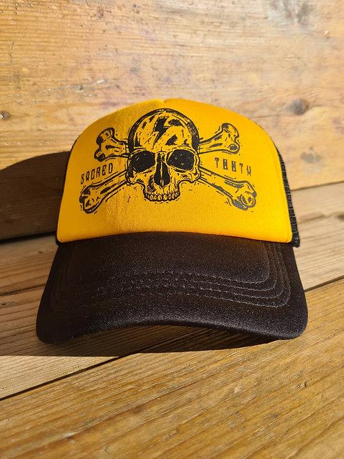 """""""CrosseBones Skull"""" Trucker Hat"""