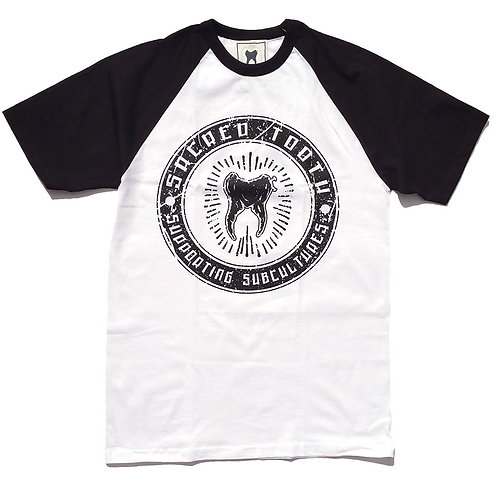 """Supporting Subcultures ""Raglan T-shirt"