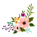 Composizione di fiori 6
