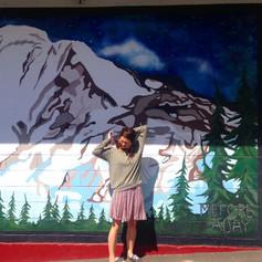 Mt. Adam Mural, Mefore Aday Artist